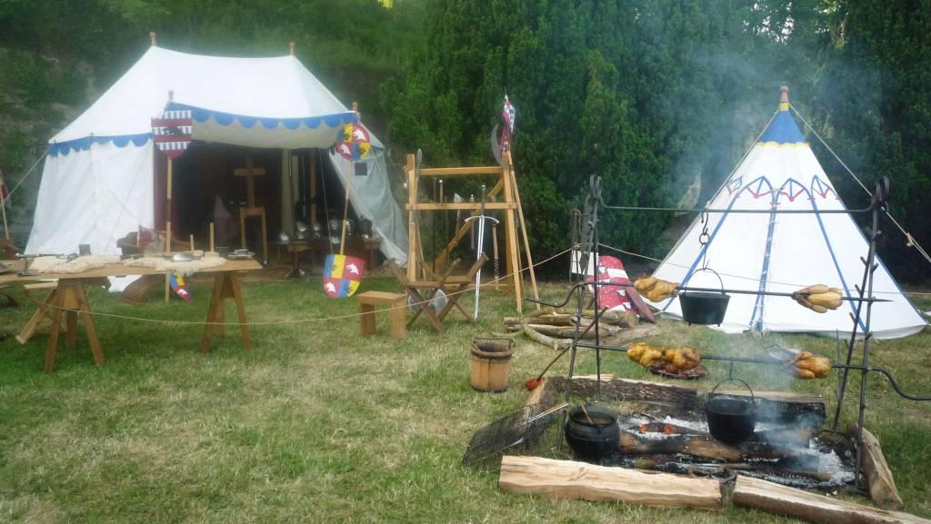 Le camp des Loups de Coucy